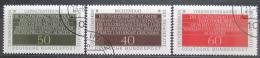 Poštovní známky Nìmecko 1981 Demokracie Mi# 1105-07