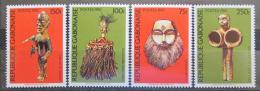 Poštovní známky Gabon 1982 Africké umìní Mi# 841-44