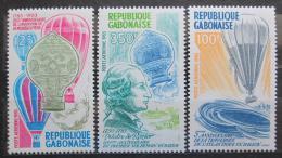 Poštovní známky Gabon 1983 Historie letectví Mi# 867-69 Kat 6.50€