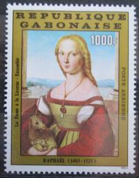 Poštovní známka Gabon 1983 Umìní, Raffael Mi# 870 Kat 12€