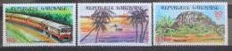 Poštovní známky Gabon 1984 Život v Gabonu Mi# 913-15