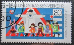 Poštovní známka Nìmecko 1983 Bezpeènost silnièního provozu Mi# 1181