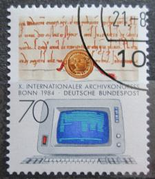 Poštovní známka Nìmecko 1984 Kongres archiváøù Mi# 1224