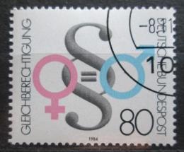 Poštovní známka Nìmecko 1984 Rovnost práv mužù a žen Mi# 1230