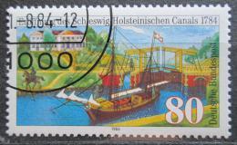 Poštovní známka Nìmecko 1984 Šlesvicko-holštýnský kanál Mi# 1223