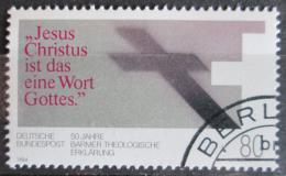 Poštovní známka Nìmecko 1984 Teologická deklarace Mi# 1214