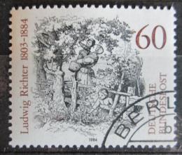Poštovní známka Nìmecko 1984 Ilustrace Mi# 1213