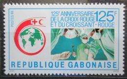 Poštovní známka Gabon 1988 Mezinárodní èervený køíž, 125. výroèí Mi# 1019