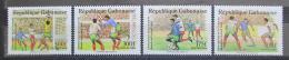 Poštovní známky Gabon 1989 MS ve fotbale Mi# 1045-48 Kat 11€