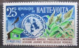 Poštovní známka Horní Volta 1962 Svìtový den meteorologie Mi# 99