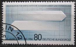 Poštovní známka Nìmecko 1986 Ekonomická spolupráce Mi# 1294