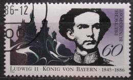 Poštovní známka Nìmecko 1986 Král Ludvík II. Mi# 1281