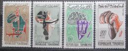 Poštovní známky Tunisko 1961 Den Afriky Mi# 576-79