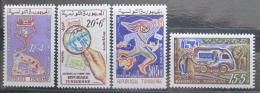 Poštovní známky Tunisko 1961 Den známek Mi# 580-83