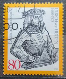 Poštovní známka Nìmecko 1988 Ulrich von Hutten Mi# 1364