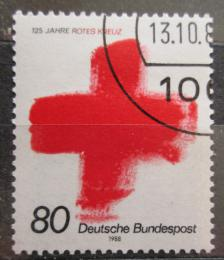 Poštovní známka Nìmecko 1988 Mezinárodní èervený køíž Mi# 1387