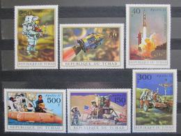 Poštovní známky Èad 1972 Apollo 15 Mi# 443-48 Kat 14€