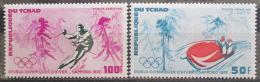 Poštovní známky Èad 1972 ZOH Sapporo Mi# 486-87