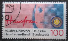 Poštovní známka Nìmecko 1990 Ženy v domácnosti Mi# 1460