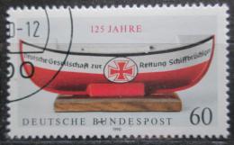 Poštovní známka Nìmecko 1990 Záchranný èlun Mi# 1465