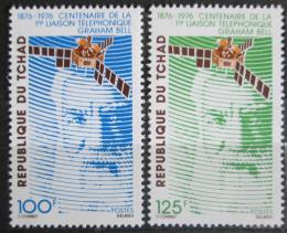 Poštovní známky Èad 1976 Telefon, 100. výroèí Mi# 729-30