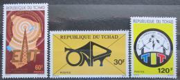 Poštovní známky Èad 1977 Telekomunikace Mi# 792-94