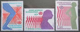 Poštovní známky Èad 1977 Boj proti revmatismu Mi# 807-09