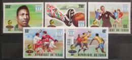 Poštovní známky Èad 1977 MS ve fotbale Mi# 811-15