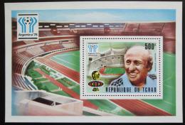 Poštovní známka Èad 1977 MS ve fotbale Mi# Block 70