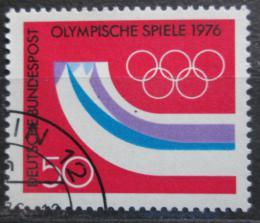 Poštovní známka Nìmecko 1976 ZOH Innsbruck Mi# 875