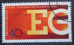 Poštovní známka Nìmecko 1976 Spoleèenství uhlí a oceli Mi# 880