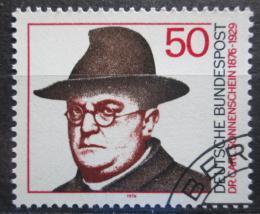Poštovní známka Nìmecko 1976 Dr. Carl Sonnenschein, politik Mi# 892