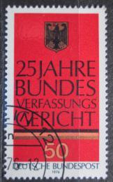 Poštovní známka Nìmecko 1976 Státní znak Mi# 879