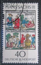 Poštovní známka Nìmecko 1976 Ilustrace, Hans Sachs Mi# 877