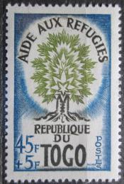 Poštovní známka Togo 1960 Rok uprchlíkù Mi# 284