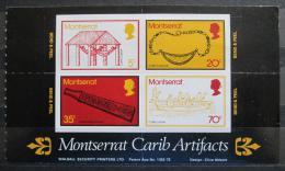 Poštovní známky Montserrat 1975 Stará karibská kultura Mi# A 319-22