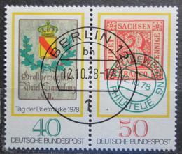 Poštovní známky Nìmecko 1978 Den známek Mi# 980-81