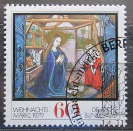 Poštovní známka Nìmecko 1979 Vánoce Mi# 1032