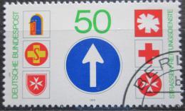 Poštovní známka Nìmecko 1979 Dopravní znaèky Mi# 1004