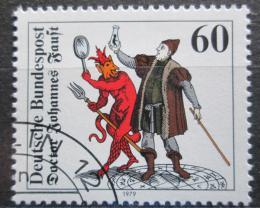 Poštovní známka Nìmecko 1979 Doktor Faust Mi# 1030