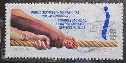 Poštovní známka Kanada 2002 Kongres služeb obyvatelstvu Mi# 2072