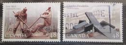Poštovní známky Kanada 2002 Sochy Mi# 2064-65