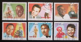 Poštovní známky Kuba 1999 Hudebníci Mi# 4190-95