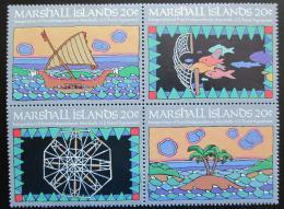 Poštovní známky Marshallovy ostrovy 1984 Nezávislost pošty Mi# 1-4