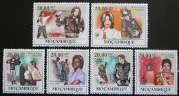 Poštovní známky Mosambik 2009 Michael Jackson Mi# 3357-62