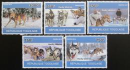 Poštovní známky Togo 2010 Sibiøský husky Mi# 3714-18 Kat 12€