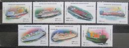 Poštovní známky Madagaskar 1994 Lodì Mi# 1752-58