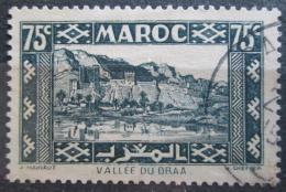 Poštovní známka Francouzské Maroko 1939 Údolí Draa Mi# 154