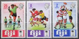 Poštovní známky Fidži 1973 Rugby Mi# 303-05
