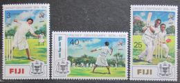 Poštovní známky Fidži 1974 Kriket Mi# 317-19